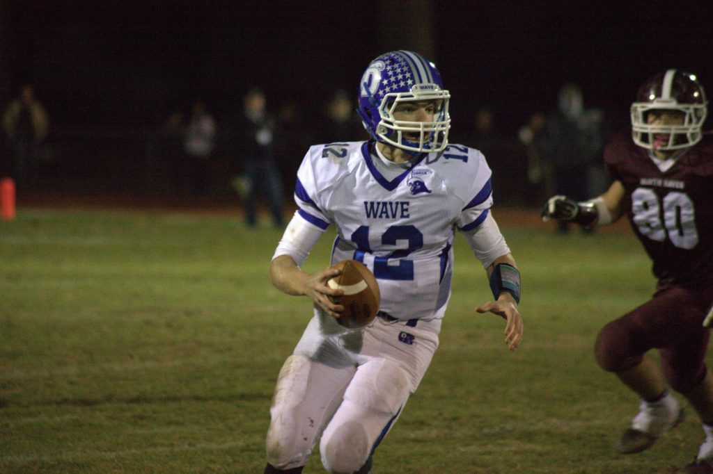 Darien and quarterback Silas Wyper have exceeded expectations to reach the Class L final. (Photo: Darien Athletic Foundation)